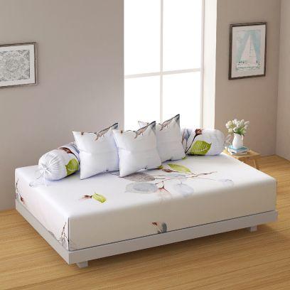 Buy Cotton Diwan Sets Online in bangalore, mumbai, chenaai, Kolkata, etc.