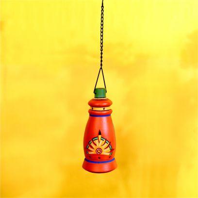 MultiColour Handpainted Hanging Tea Light Holder