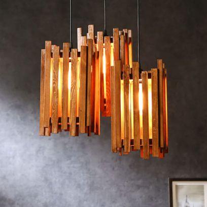 Palisade Brown Cluster Hanging Lamp