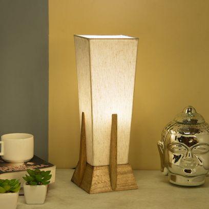 Mango Retro Style Khadi Table Lamp