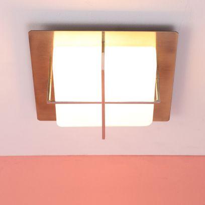 Westinghouse Metallic Chrome Steel Flush Mount Ceiling Light