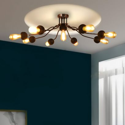Get chandelier lights at WoodenStreet