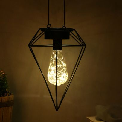 Open Inverted Diamond Cage LED Lighting