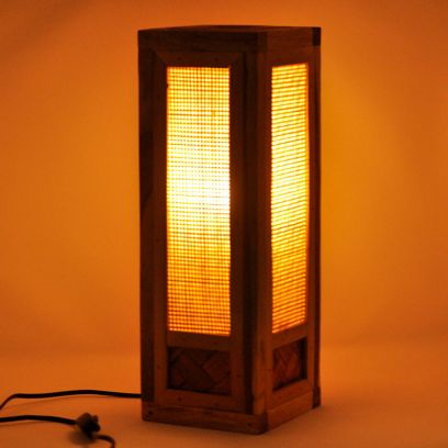 Estelle Bamboo Table Lamp