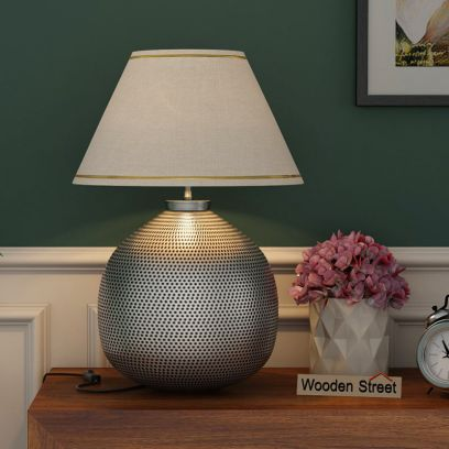 Metal table Lamp Online, bedroom decor ideas