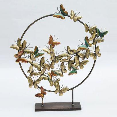Butterflies on a Iron Ring