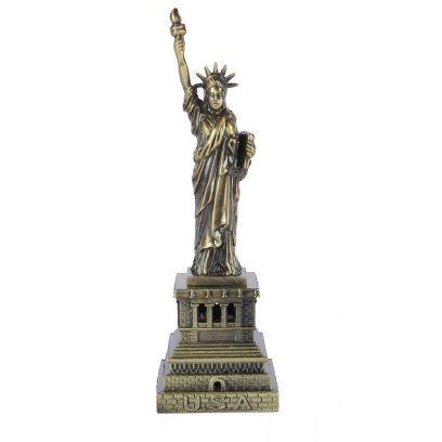 Metallic 6-inch Statue Of Liberty Miniature