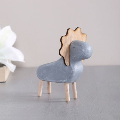 Resin Art Minimalist Sheep Showpiece