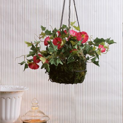hanging planters outdoor for decoration