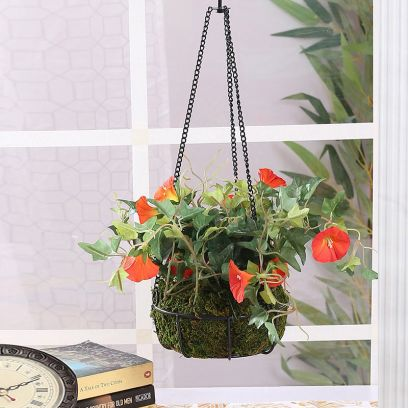 Get Artificial Plant with Hanging Planter Online @ Wooden Street