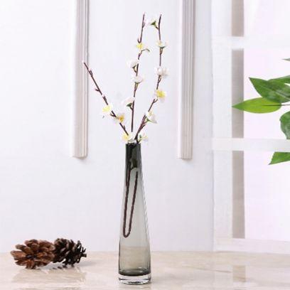 Black Chic Glass Vase