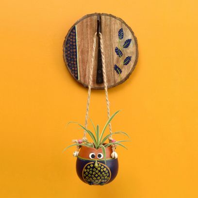 Shop hanging plant pots online from WoodenStreet