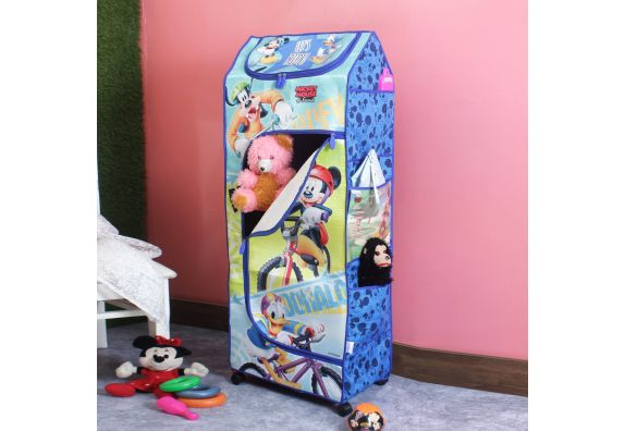 Disney Mickey Mouse and Friends Portable Collapsible Wardrobe for kids