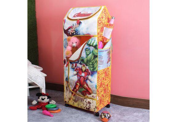 Marvel Avengers Assemble Multicolor Portable Kids Wardrobe