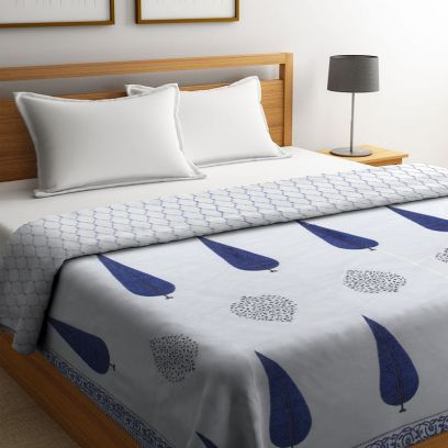 Jaipuri Summer Quilt for Double Bed
