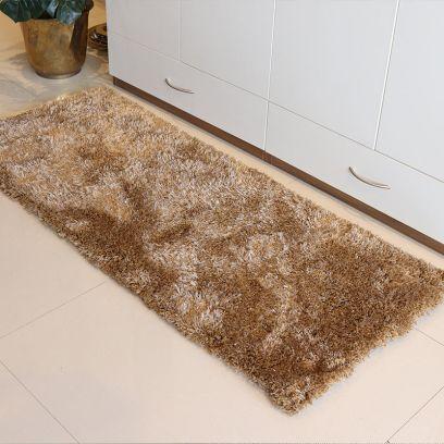 Golden Soft Shaggy Runner - 5 x 2 Feet