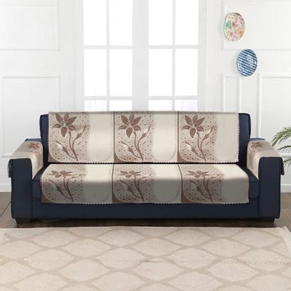 5 seater sofa cover set for wooden sofa