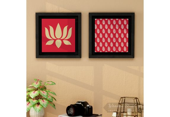 Wall Painting Online : Buy Framed Wall Art (Set of 2)