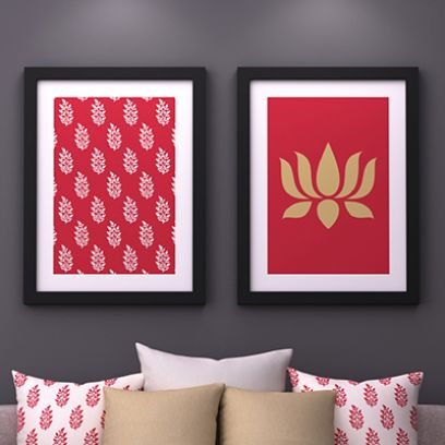 cheap wall art online India for room decoration items
