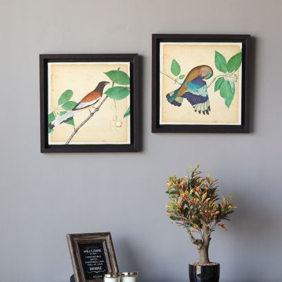 Multicolour Bird Wall Art Painting in Bangalore, India