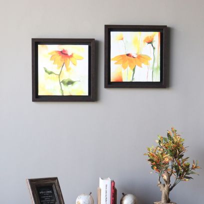 Multicolour Flower Wall Painting Online in Bangalore, India