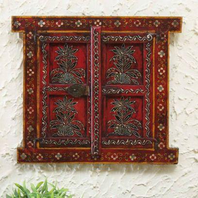 Multicolor Wooden Jharokha