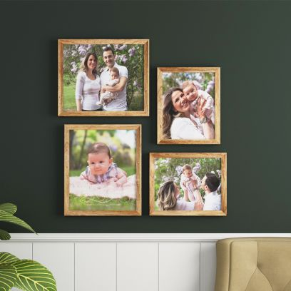 Purchase Wooden Family Picture Frames Online India