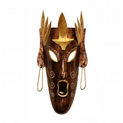 Decorative Multicolour Metal Wall Mask