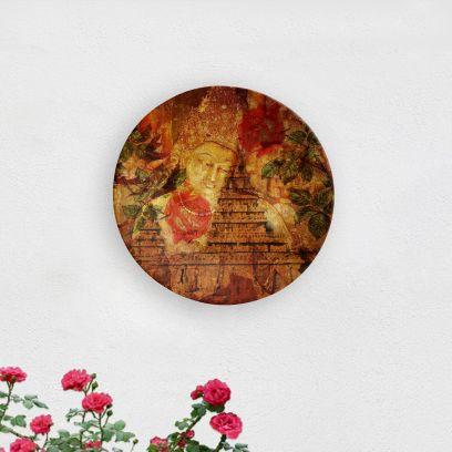 Buddha Caves Decorative Wall Plate