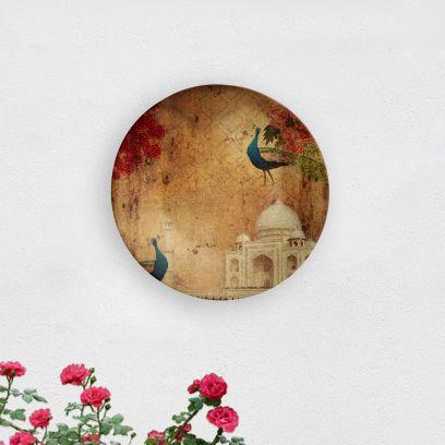 Taj Mahal Symbol of Love Decorative Wall Plate
