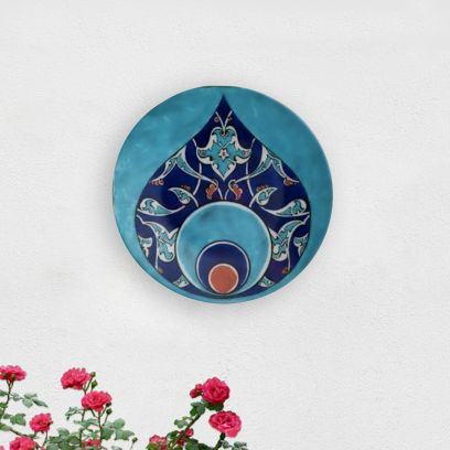 Turkish Moroccan Tile Decorative Wall Plate