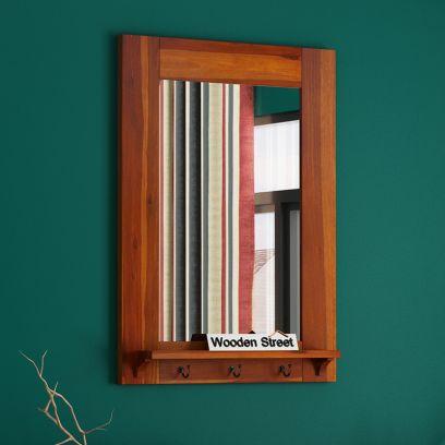 Panama Mirror With Frame