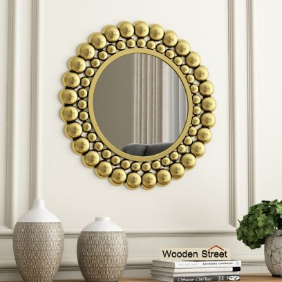Scalo Metal Mirror with Frame