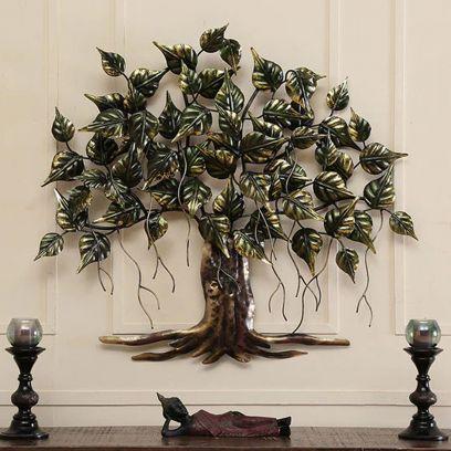 Buy Wall Art: Shop Tree Metal Wall Art online @Low Price in India