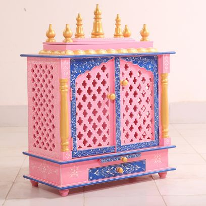 Wooden Temple for home online in Mumbai India