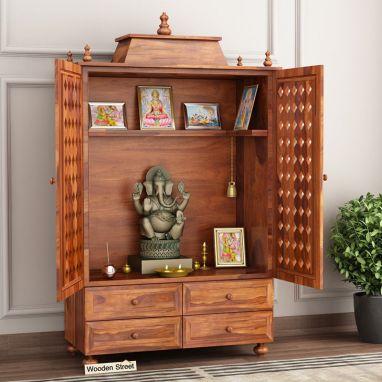 Buy Wooden Mandir, Amazing Wooden Temple