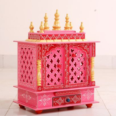 Best Wooden Temple for home