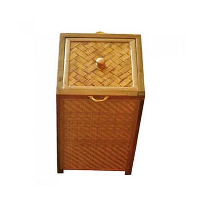 Bamboo and Wood Laundry Basket Online at Low Price India | Housekeeping Items