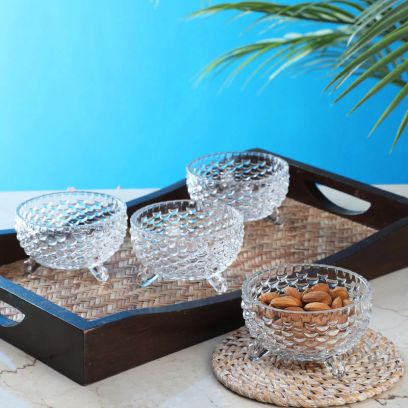 Buy Serving Glass Bowls Set Online in India