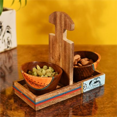 Wooden Salad Bowls Online at Low Price India