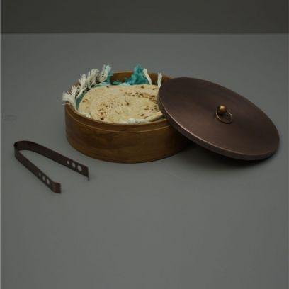 Brown Colour Wooden Casserole