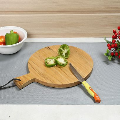 Circular Mango Wooden Chopping Board Online India