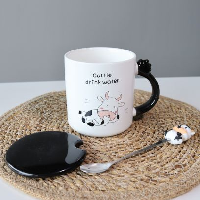 Creative Animal Drink Water Ceramic Cup