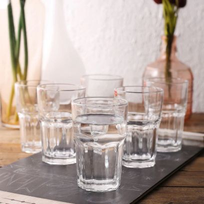 350 ML Ora Premium Quality Everyday Glasses - Set of 6