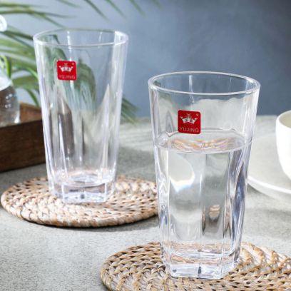 350 ML Plain Everyday Glasses - Set of 6