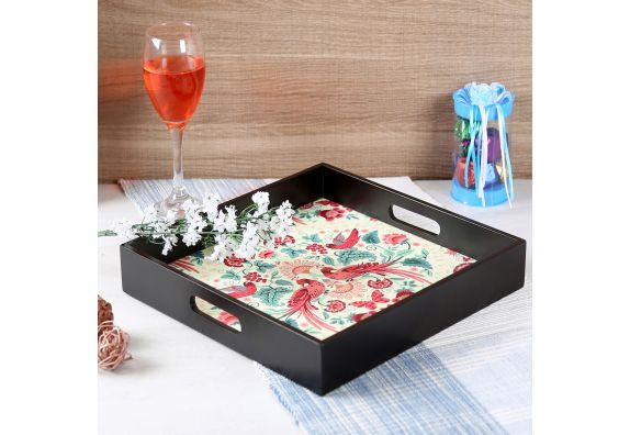 Palampore MDF Square Serving Tray