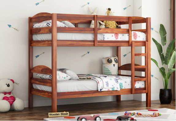 bunk bed with study table online in mumbai, bangalore