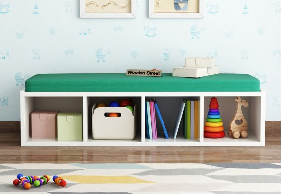 Kids Storage Furniture: Buy Kids Bench cum Shelf Online in India