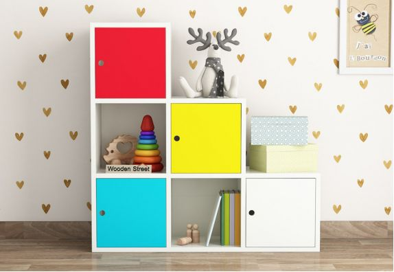 Buy Online Multicolor Kids Storage Unit @ WoodenStreet