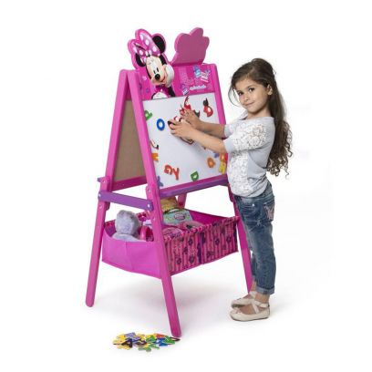 Minnie Mouse Easel Activity Table With Storage